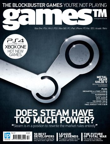 games™ is the award-winning multiformat videogames magazine from Imagine Publishing, commanding industry respect and a sophisticated, loyal audience with world-class access.  As we anticipate the release of the Steam Machines in 2015, we spoke to a number of Steam developers to find out if Valve is using its influence wisely. Elsewhere we spoke to pro gamers about the rise of League Of Legends and give you our 50 best developers in the world.