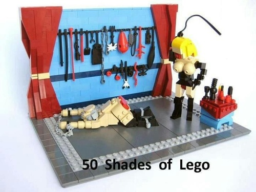 50 Shades of Lego :)