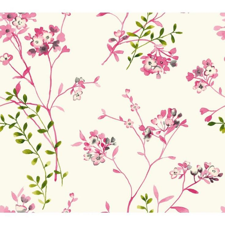 Watercolours by Carey Lind Designs, WT4534 by York Wallcoverings
