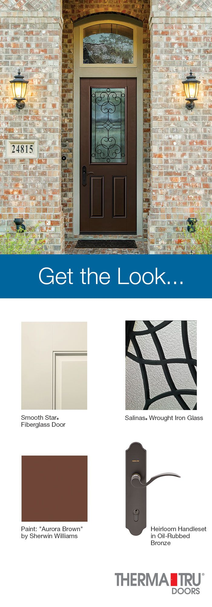 Best 20 Fiberglass Entry Doors Ideas On Pinterest: 20 Best Images About Get The Look... On Pinterest