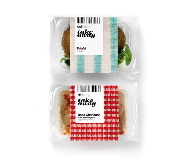 Delishop Take Away on Packaging of the World - Creative Package Design Gallery