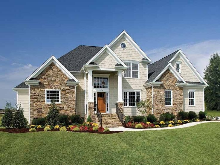 The 27 best Home ideas images on Pinterest   Country homes, Country Square Stone House Designs on cobblestone house designs, tower house designs, small stone house designs, sandstone house designs, modern stone house designs,