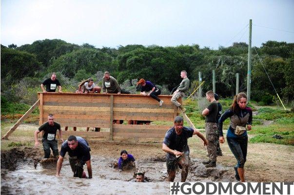 'Meedoen met een obstacle run, leren van elkaar en je grenzen verleggen: winnen doe je samen!' #Godmoment (Rik, 17)