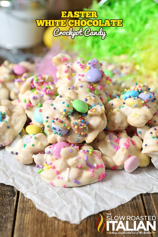 Easy homemade easter candy recipes