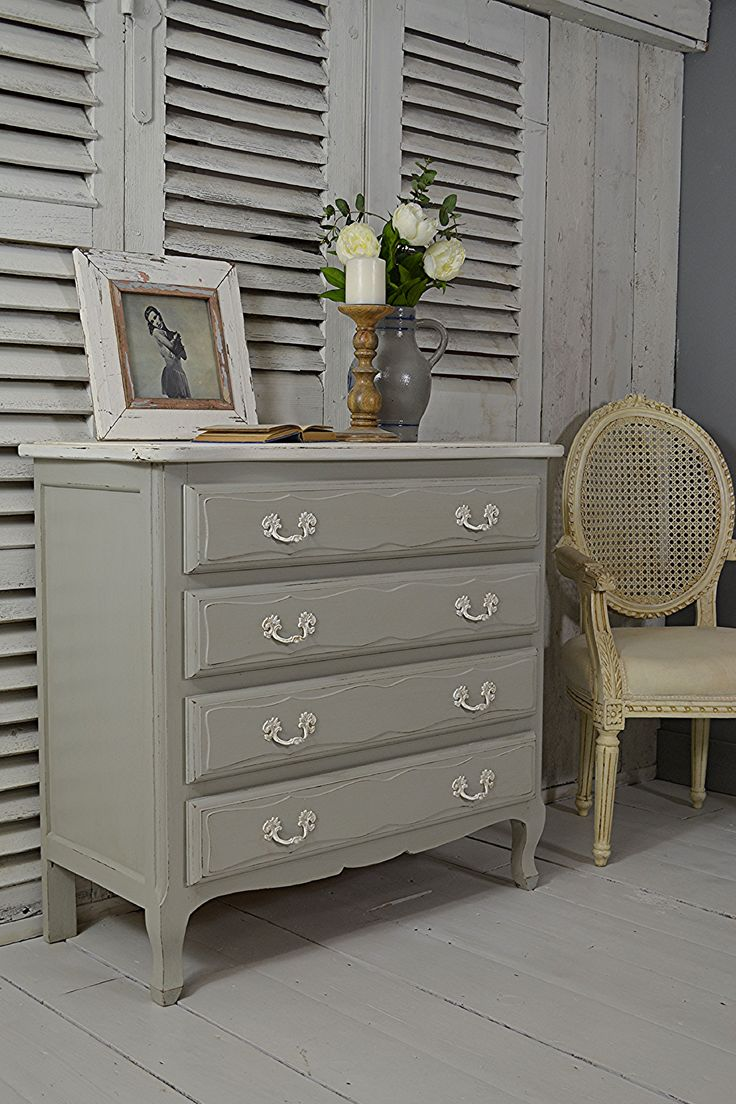 Letstrove This Oak French Chest Of Drawers Is A Lovely Size And Painted In