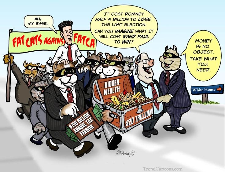 Rand Paul, FATCA and the new march on Washington.