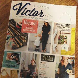La maison victor, supermooi Vlaams blad met naaipatronen, maar ook dingen om te breien, haken en knutselen!