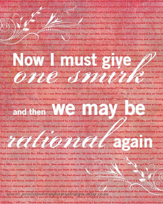 Jane Austen - One Smirk