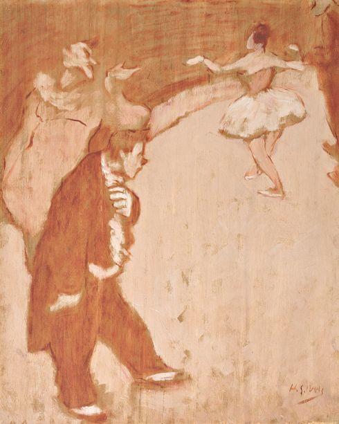 amare-habeo:    Henri-Gabriel Ibels (French, 1867 – 1936)Monsieur Auguste!, 1895  oil on canvas
