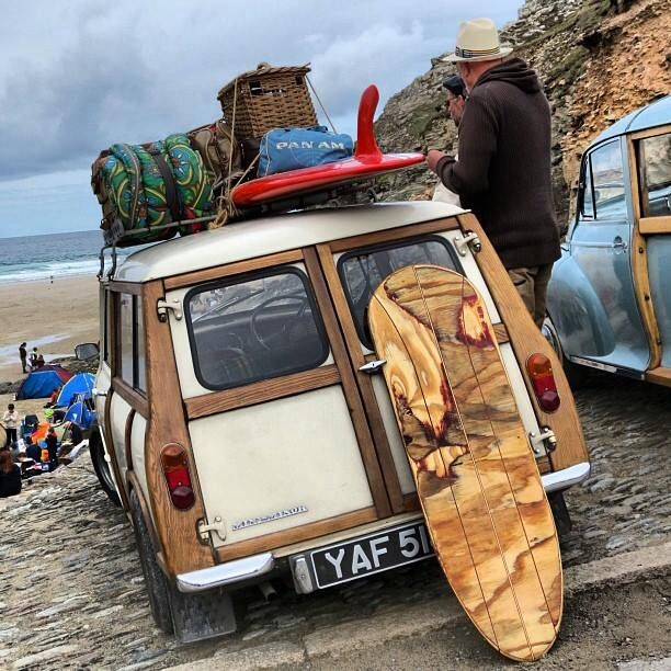 I keep telling my husband that I have thought about makibg my Clybbie into a surf wagon.