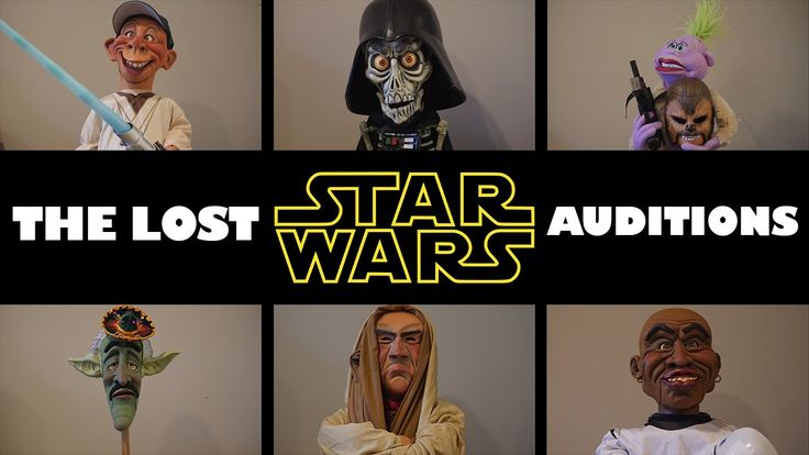 """Achmed as Darth Vader? Bubba J as Luke? The guys' lost Star Wars auditions! Order the full special, """"Unhinged in Hollywood,"""" on DVD or Blu-Ray!: http://bit.l..."""