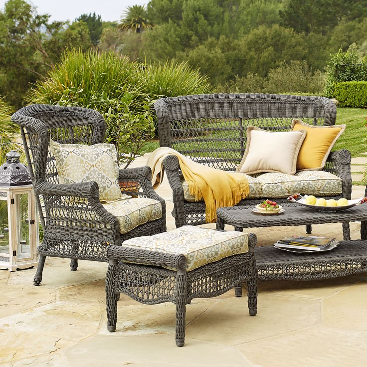 17 Best Images About Outdoor Furniture Outdoor Seating On Pinterest Cove Gray And Chaise