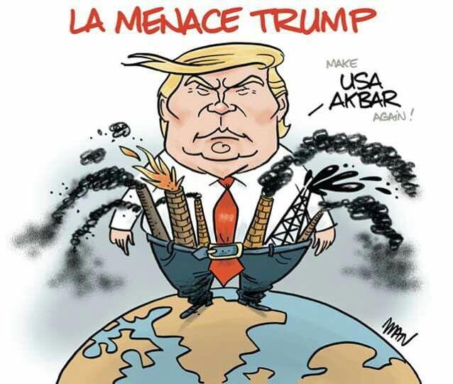 Manuel Lapert  - Man  (2017-06-05)  USA: Donald Trump,  environment