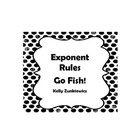 Bring back the childhood game of Go Fish! Practice or review simplifying exponents with your students in a way they will never forget. This activit...