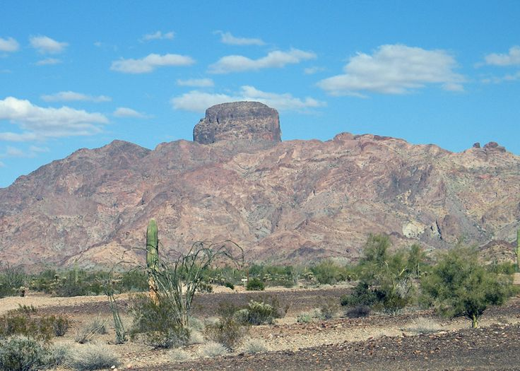 Castle Dome in Yuma Arizona  is a great day hike.