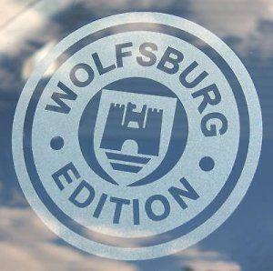 VW 'WOLFSBURG édition' 2 gravé vitrage autocollants: VW 'WOLFSBURG édition' 2 gravé vitrage autocollants – VW 'WOLFSBURG EDITION' gravé…