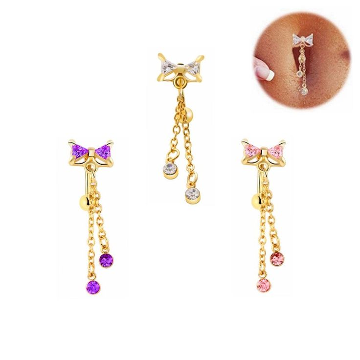 1Pc Delicate Belly Button Rings Navel Piercing Ombligo Body Jewelry Pircing Umbigo Percing Body Jewelry Pirsing