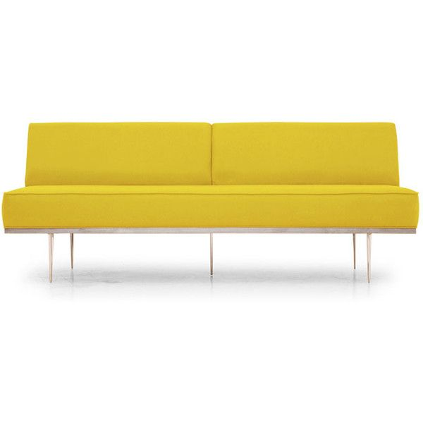 best 25  yellow leather sofas ideas only on pinterest