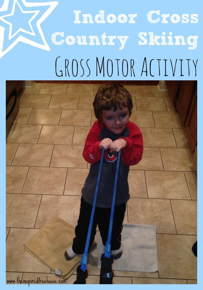 Indoor gross motor activities for kids cross country for Indoor gross motor activities