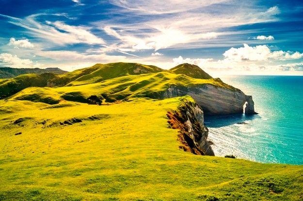 Visiter le cap Farewell pendant sa lune de miel en Nouvelle Zélande