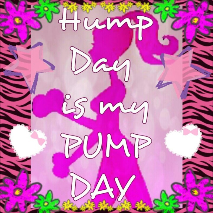 Happy Wednesday aka Hump Day!!!!! For most it's just another day bringing us closer to the ...