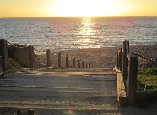 julias beach in vale do lobo