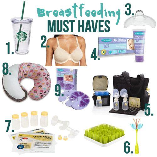 Must Haves: Breastfeeding Essentials
