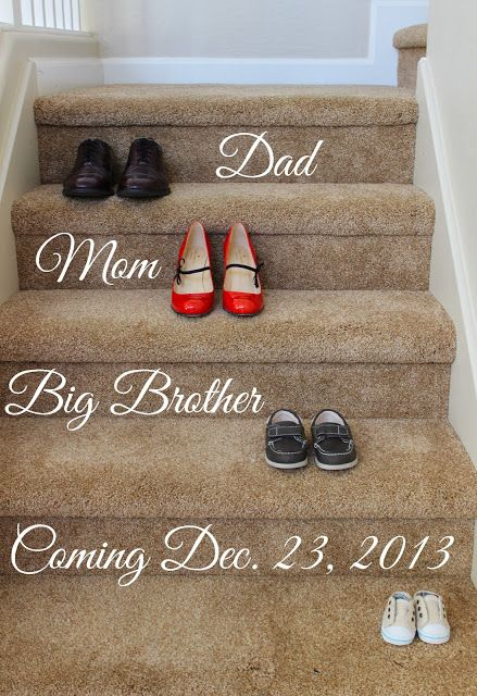 Cute Pregnancy Annoucement