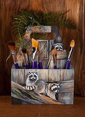 Little Rascals by Barb Halvorson. Wood surface and Exclusive, Free Downloadable…