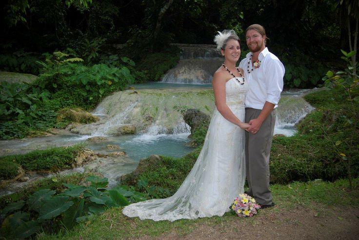 If you're looking for something unique then why not get hitched at the lovely Mele Cascade Waterfalls in Vanuatu?