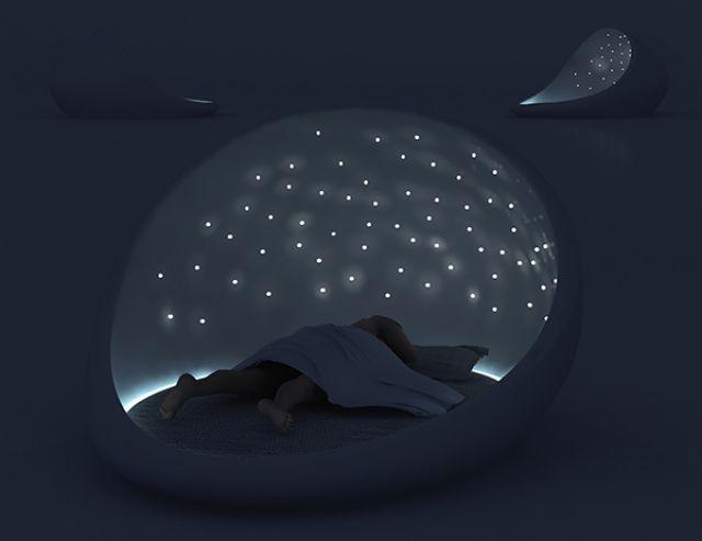 cosmos bed - Natalia Rumyantseva