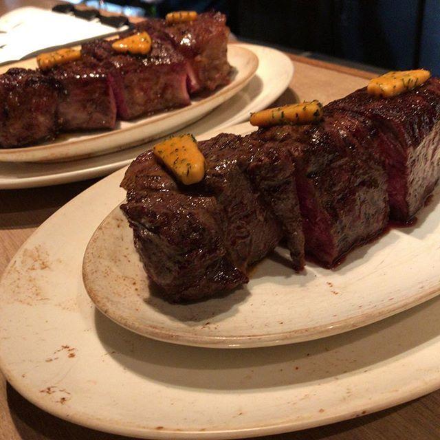 オーストラリアサーロイン  #rusteaks #ステーキ #広尾 #恵比寿 #熟成肉 #肉 #ポーターハウス #ラム肉 #ラム #ドライエイジング #牧草牛#リブアイ#ラステイクス#オイスター#骨付#ディナー#プライムリブ#ワイン#サラダ#炭火焼#サーロイン#フィレ#オーストラリア#steak#beef#lamb#grilled#hiroo
