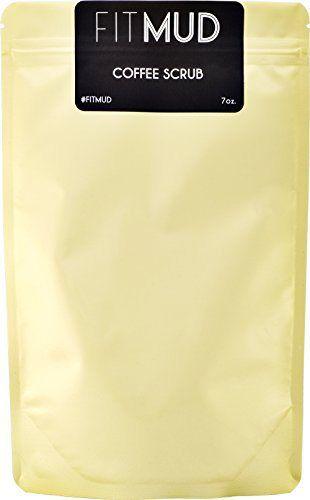FitMud Coffee Scrub for cellulite, stretch marks (7oz) - http://essential-organic.com/fitmud-coffee-scrub-for-cellulite-stretch-marks-7oz/