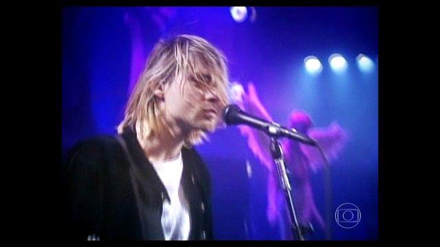 Jornal da Globo - Mundo da música perdeu há 21 anos a presença marcante de Kurt Cobain