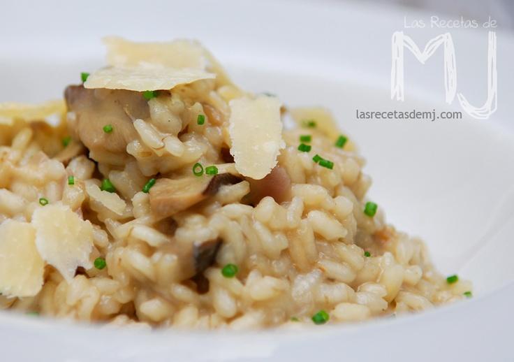 Risotto de ceps / Risotto with mushrooms