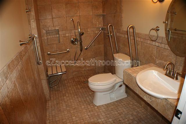 Best 25 Ada Bathroom Ideas On Pinterest: 51 Best Handicap Shower / Ramps Images On Pinterest