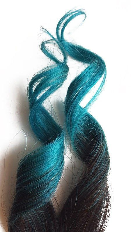 4622 best clip in hair extensions images on pinterest make up mermaid hair extensions 2 clip in black and turquoise blue ombre human hair with 1 clip attached to each piece in the length you choose long pmusecretfo Choice Image