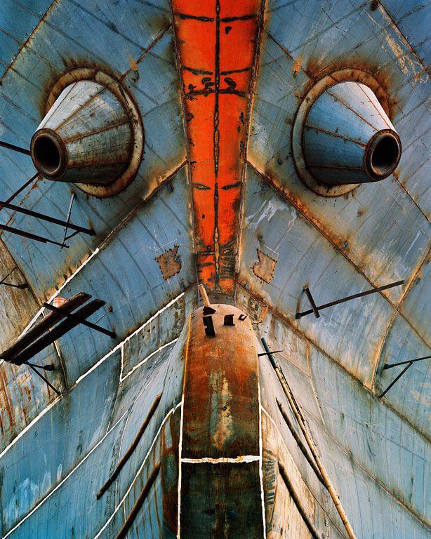 Shipyard #15, Qili Port, Zhejiang Province, China Edward Burtynsky
