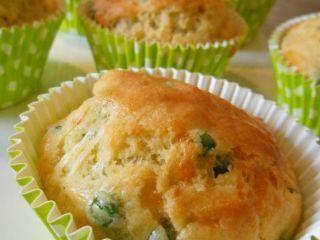 Cakes aux petits pois & comté, Recette Ptitchef