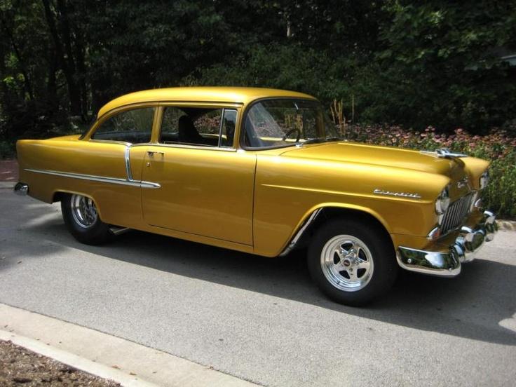 1955 Chevrolet : Bel Air/150/210 2 DOOR POST SEDAN