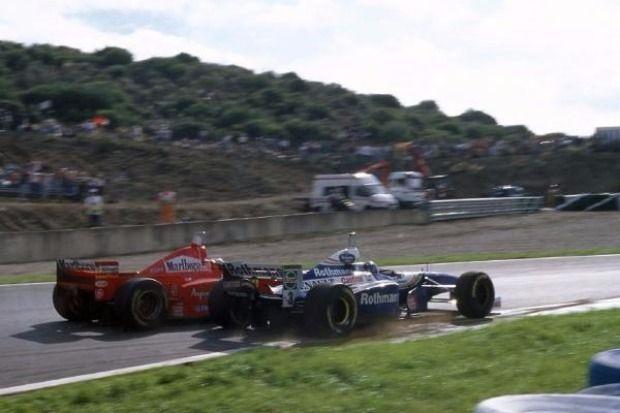 Jacques Villeneuve, Michael Schumacher