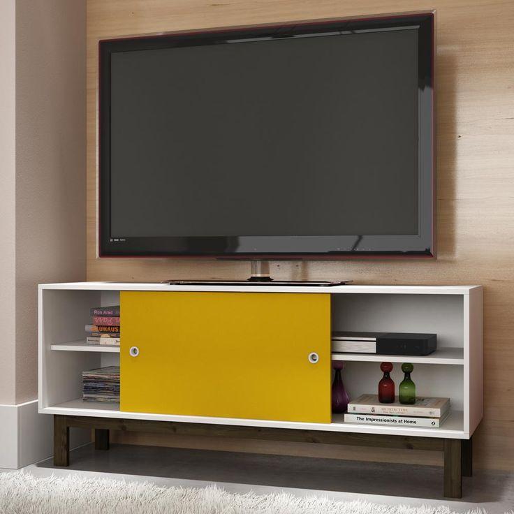 Gostou desta Rack para TV Bpi 21-144 Branco/Amarelo/Carvalho Escuro - Brv Móveis, confira em: https://www.panoramamoveis.com.br/rack-para-tv-bpi-21-144-branco-amarelo-carvalho-escuro-brv-moveis-7080.html