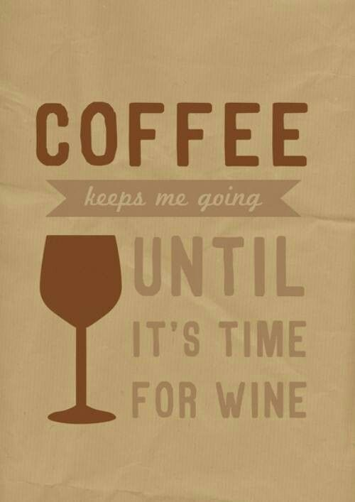 Coffee and Wine. Yes this is me and @Lindsey Grande Grande Jones and @Amber Nickerson