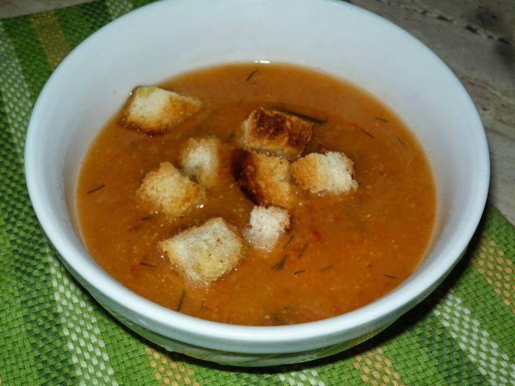 Supa crema de naut (de post)