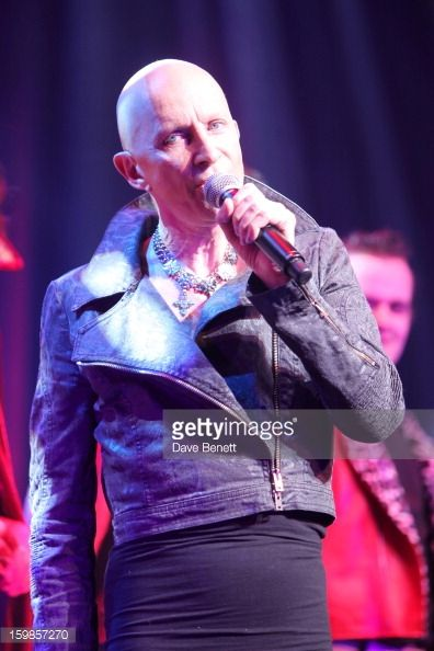 Richard O'Brien performs on stage during a production of Richard O'Brien's Rocky Horror Show at the New Wimbledon Theatre on January 21st, 2013 in London, United Kingdom.