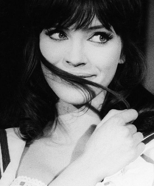 """Anna Karina in """"Une femme est une femme"""", 1961."""