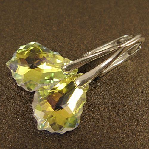 BAROKOWE REFLEKSY kolczyki - Biżuteria ślubna - Biżuteria artystyczna