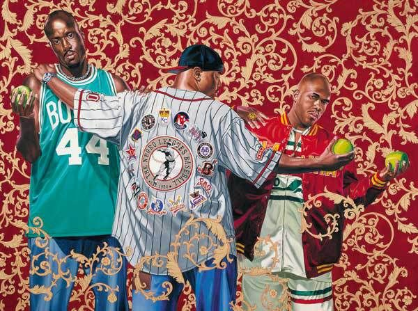 Kehinde Wiley and Barkley L. Hendricks