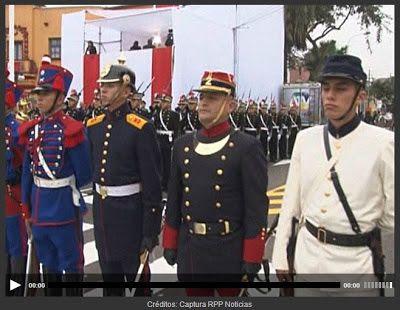 La Guerra del Pacífico 1879 - 1884 ( Perú, Bolivia y Chile): uniformes históricos Compañía Histórica 'Fanning' de La Marina de Guerra (Batallón Guarnición de Marina)  Tomado del blog de Jonatan Saona http://gdp1879.blogspot.com/2013/08/uniformes-historicos.html#ixzz3XdfEhLQX