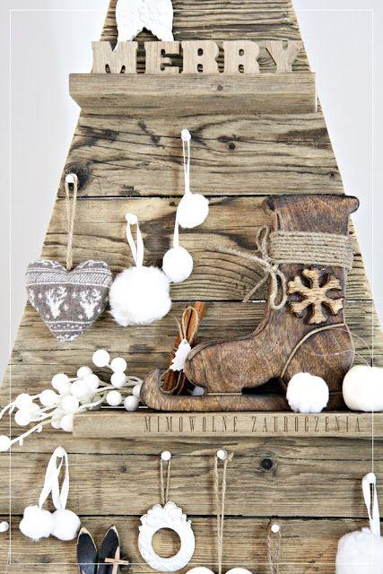 Christmas Tree, Choinka inaczej, Eco, Rustical Xmas Tree, Naturalna Choinka bez igieł, Mimowolne Zauroczenia